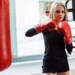 girl, sports, boxing